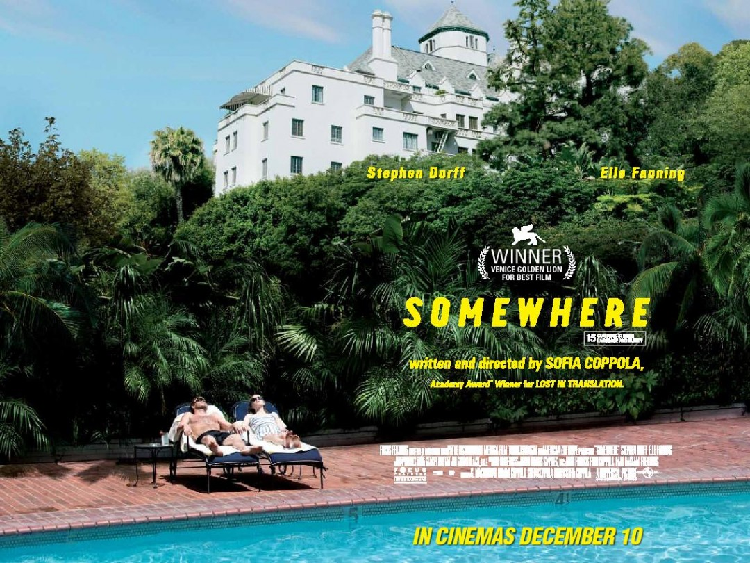 Somewhere Poster Sofia Coppola Stephen Dorff
