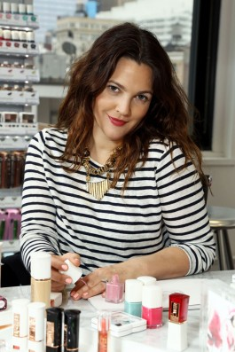 Drew Barrymore's Launch Party for her Cosmetics Range 'Flower Beauty' at Willow Road Restaurant