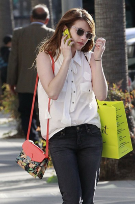 Emma-Roberts-Carrying-Loeffler-Randall