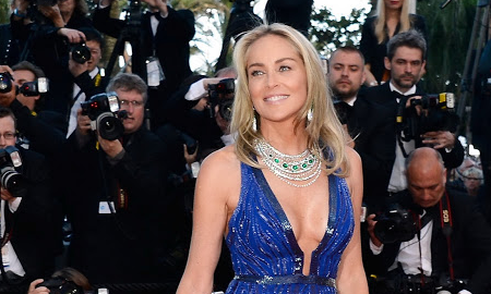 Did Sharon Stone Pull Off the Ultimate Jewelry Heist at Cannes?