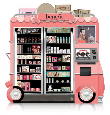 Benefit Cosmetics Kiosk Comes To Airport Near You  The Chic Spy