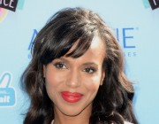 SPOTTED: Kerry Washington at Teen Choice Awards