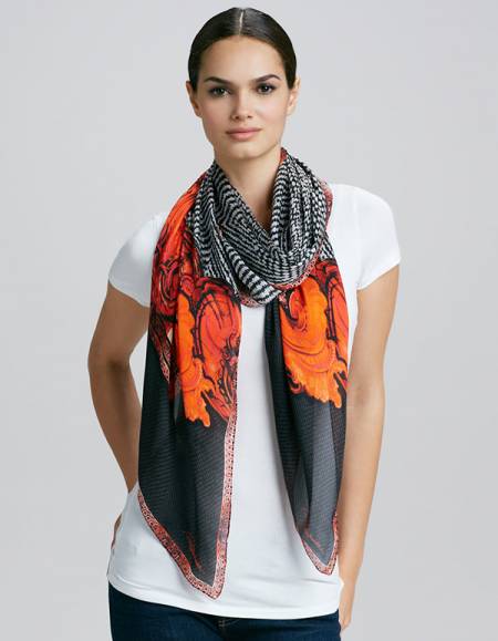 black and orange the new quot it quot color combo the chic