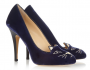 Kick Off September With Sapphire Blue Kitty Heels