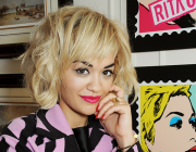 SPOTTED: Rita Ora in Moschino Cheap and Chic