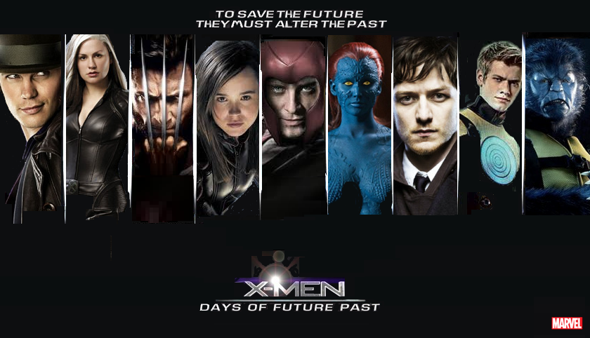 X-MEN Days of Future Past Cast Poster