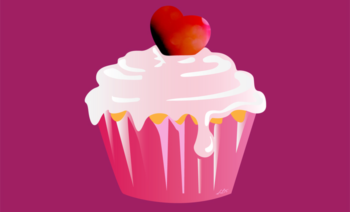 Violet-and-Lines-Valentine-Card-Cupcake