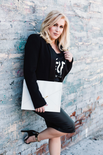 Smart Blondes Lindsey Philp. (Photo by