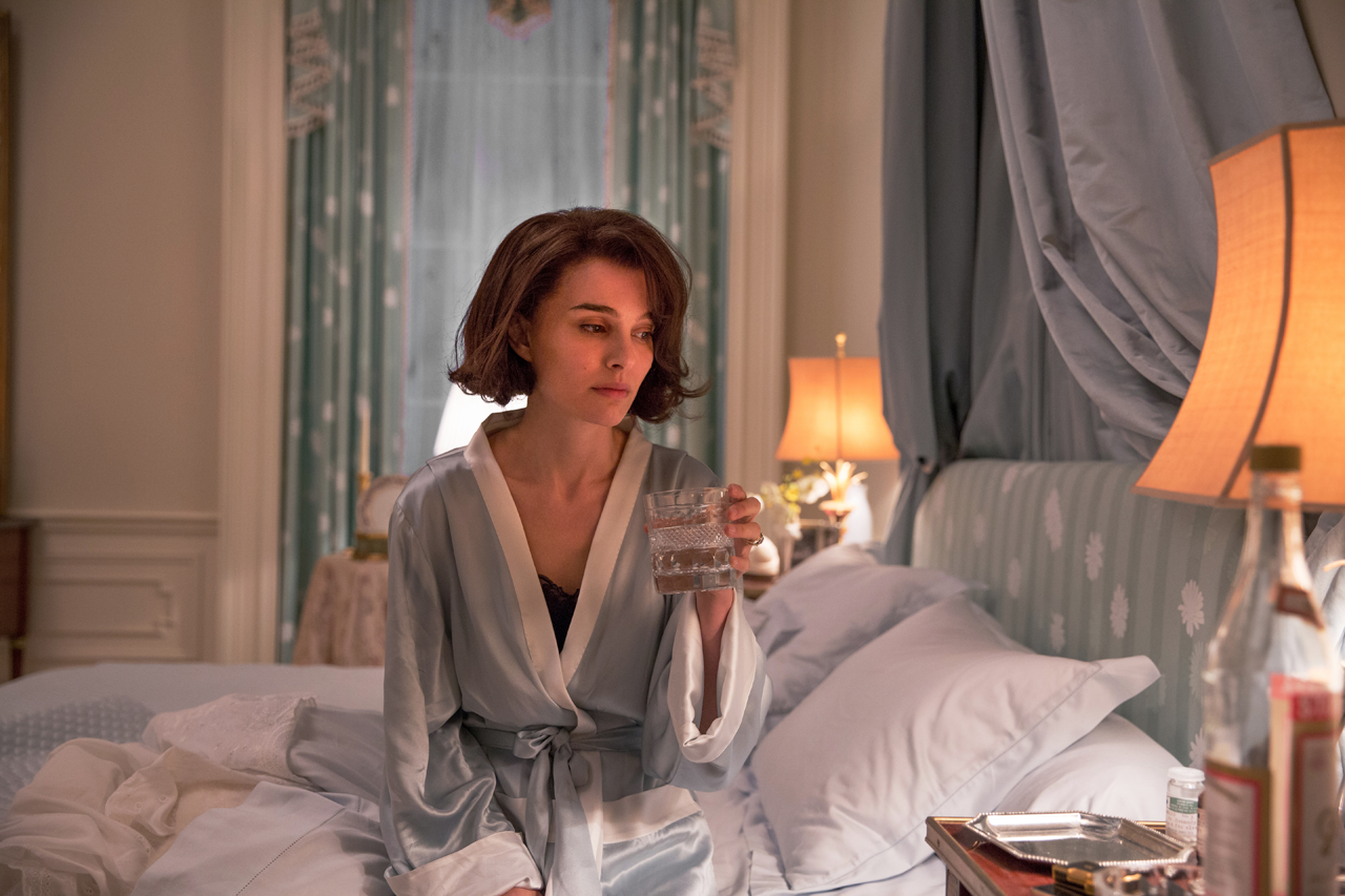 "Natalie Portman as Jackie Kennedy in ""Jackie."" (Source: Fox Searchlight)"