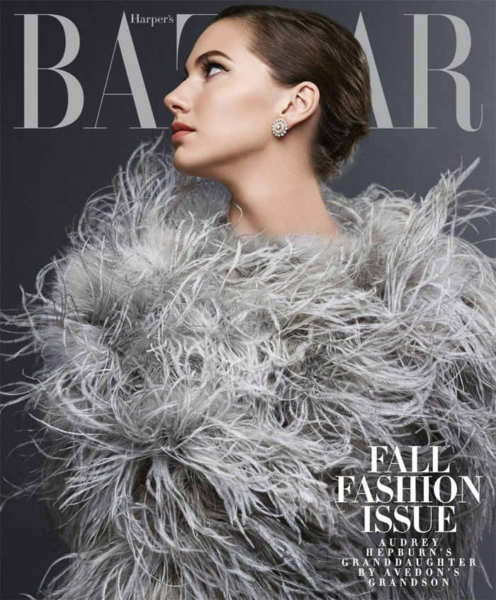 Photographed by Michael Avedon for cover of Harper's Bazaar magazine.