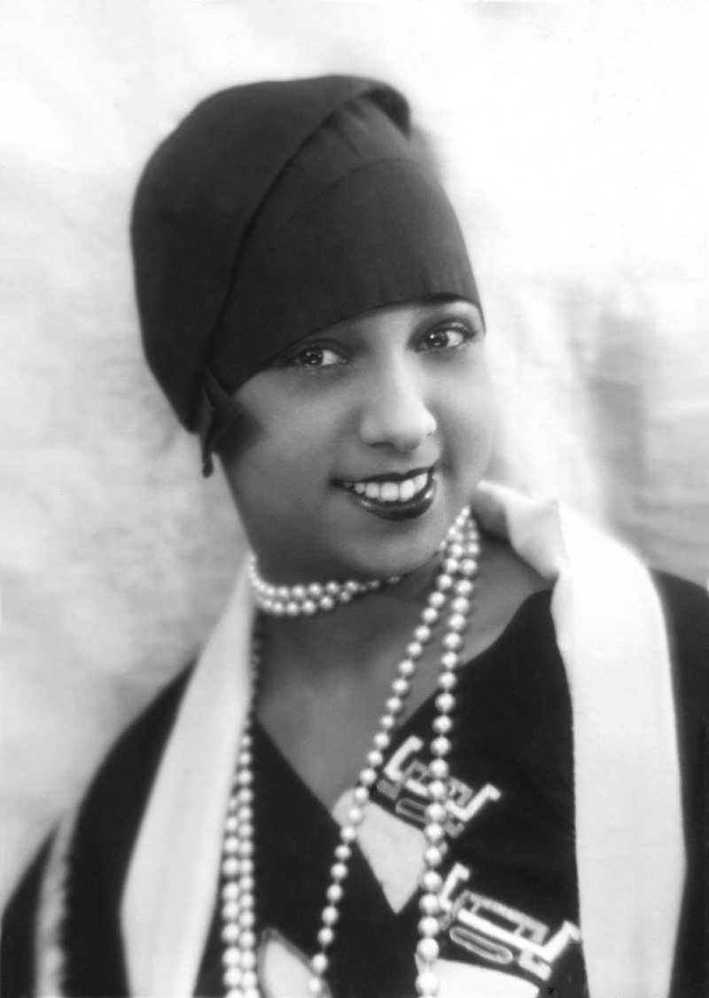 Josephine was the epitome of a 1920's flapper.