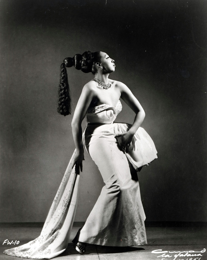 Josephine is the original queen of striking a pose.