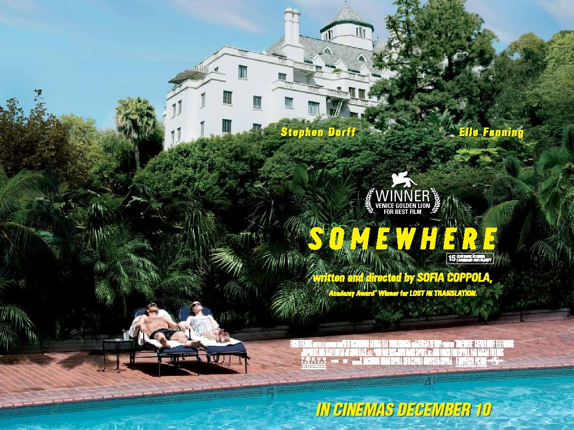 Risultati immagini per somewhere movie poster
