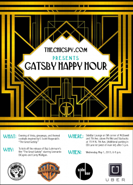 Gatsby Happy Hour