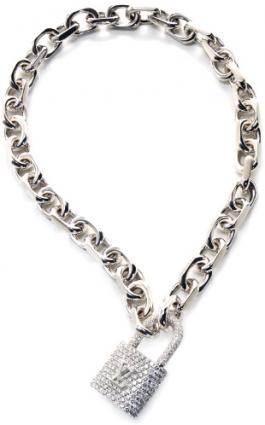 Louis-Vuitton-Link-Lock-Bracelet