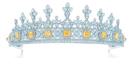 Fancy-Intense-Yellow-Diamond-Tiara