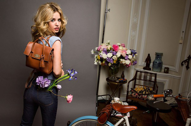 Georgia-May-Jagger-Mulberry-Spring-2015-Campaign-Backpack