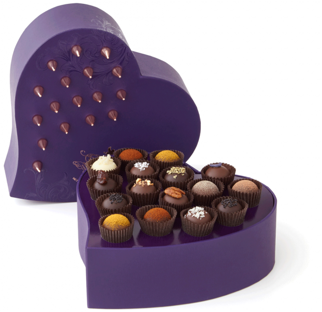 Vosges Chocolate Exotic Truffle Renegade Heart Box