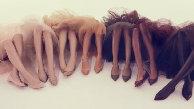 Mission Louboutin Nude Flats The Chic Spy