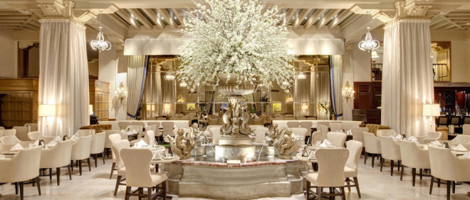 Chicago-visit-vacation-shop-Drake-Hotel-Palm-Court