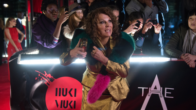 "Jennifer Saunders in ""Absolutely Fabulous: The Movie"""