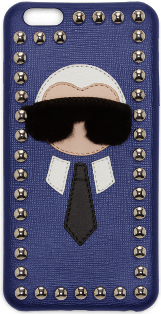 did-you-know-fashion-facts-blue-karlito-studded-saffiano-leather-and-mink-fur-iphone-6-case
