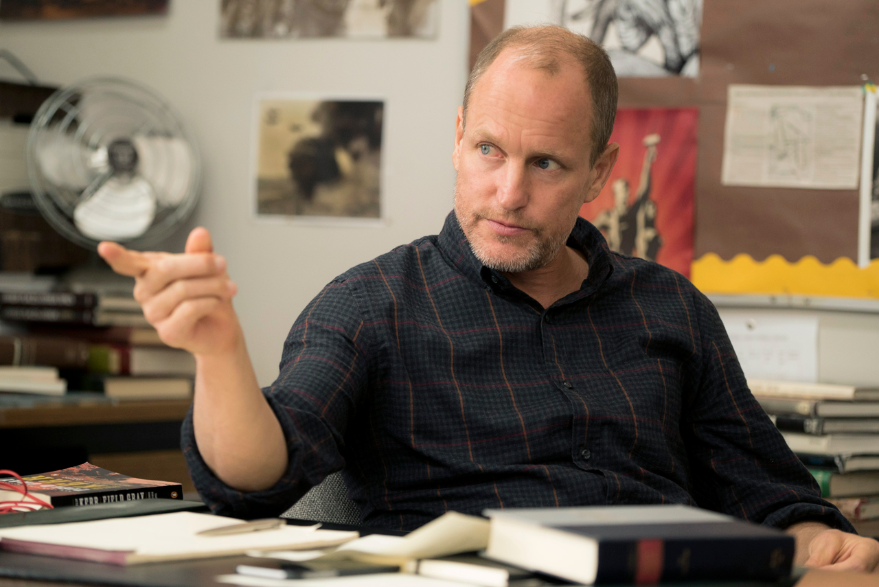 "Woody Harrelson in ""The Edge of Seventeen."""