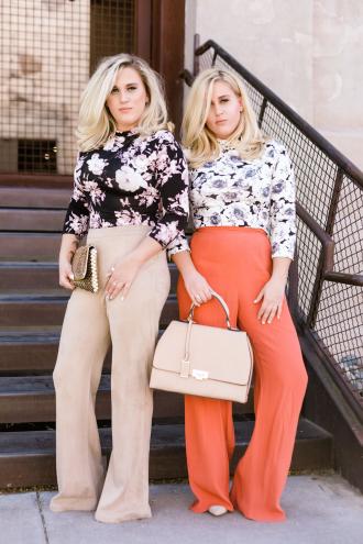 Smart Blondes Leslie Philp (left) and Lindsey Philp.