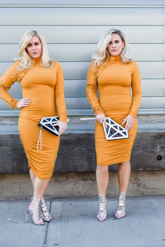smart-blondes-lindsey-leslie-philp-guest-agent-mustard-dress