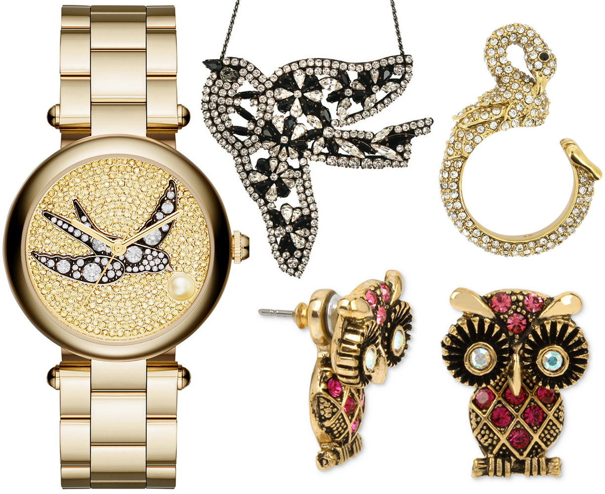 12-days-of-christmas-gift-crystal-bird-owl-watch-necklace-ring-earrings
