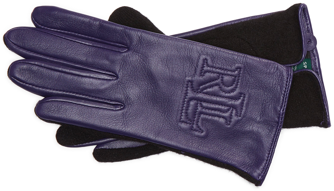 12-days-of-christmas-gift-ralph-lauren-purple-touch-screen-gloves