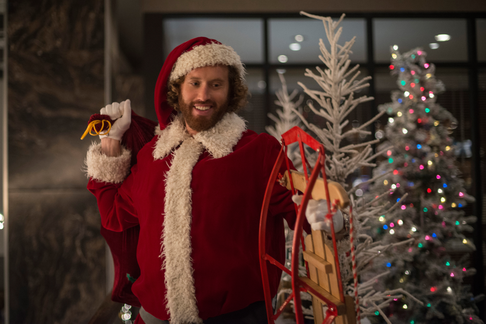 "T.J. Miller in ""Office Christmas Party."" (Source: Paramount Pictures)"